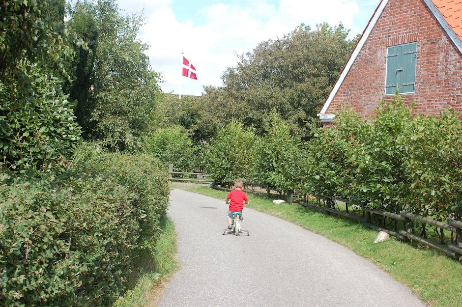 På vej gennem Sønderho